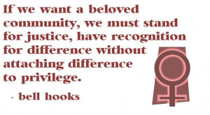 bell hooks on difference #feminism #radicalfeminism