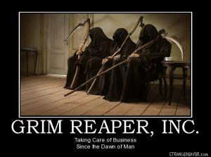 Grim Reaper Funny Quotes