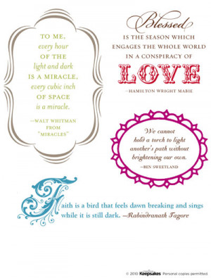 Wednesday Download: Quotes for Scrapbook Pages