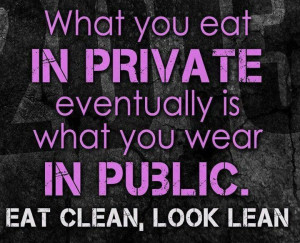 healthy: Inspiration, Eating Cleaning, Eating Right, Motivation Quotes ...