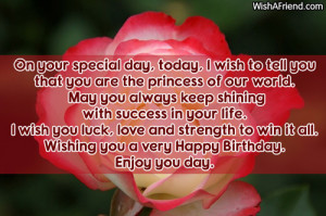 Happy Birthday To My Daughter Quotes Daughter birthday sayings