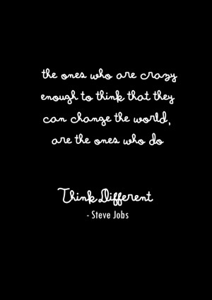 steve jobs quote quotes apple think different