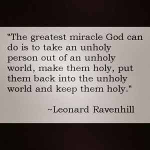 quote on holiness ... Leonard Ravenhill Quotes, Quotes 3, God Quotes ...
