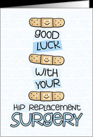 Hip Replacement Surgery - Bandage - Get Well card - Product #973971