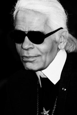 Karl Lagerfeld Before And After