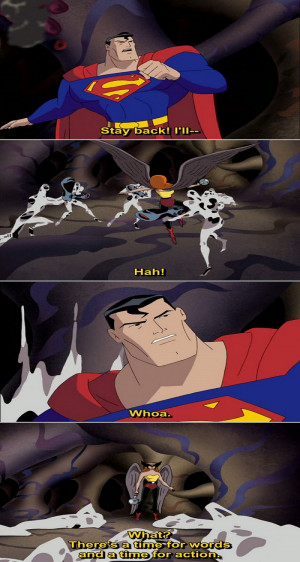 Justice League Animated Series Quote-2