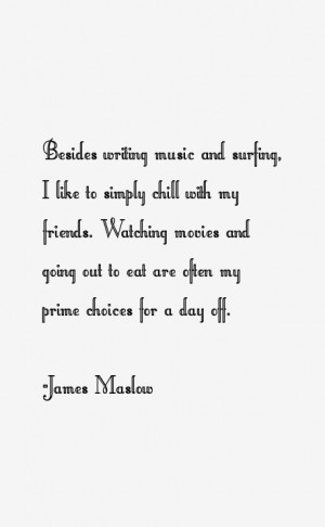 James Maslow Quotes & Sayings