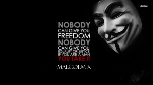 Freedom quote wallpaper