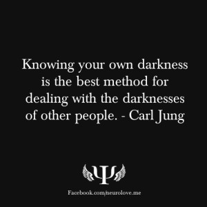 ... is the best method for dealing with the darknesses of other people