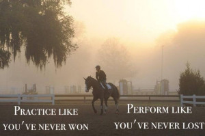 my post today I thought I would share some inspiring Equestrian quotes ...