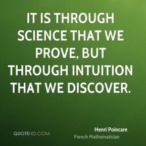 More Henri Poincare Quotes