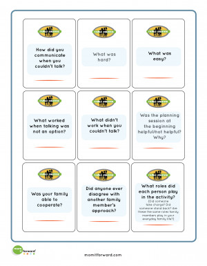 Family Communication Quotes Family survivor printable