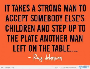 It takes a strong man to step up to the plate