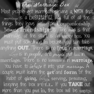 marriage advice the background is an engagement picture of me and my ...