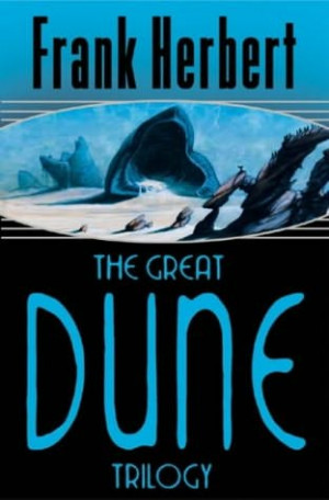 Reading the Dune trilogy again, brilliant books.