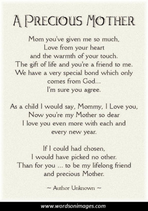 quotes from mother and son poems