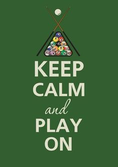 Viola's welcomes the APA for pool league night every Monday. Keep Calm ...