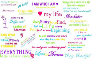 about me sayings