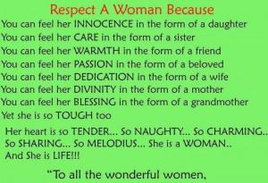 Woman Respect