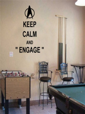 Home > Quotes > Keep Calm and Engage