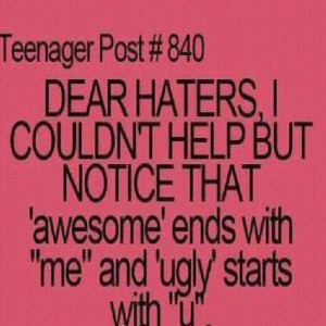 duh #haters #me #repost #quote #quotes...