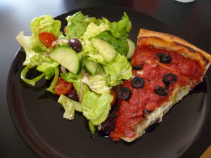 These are the homemade chicago style pizza sauce vegan Pictures