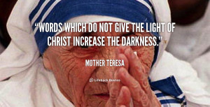 Mother Teresa Quotes On Jesus
