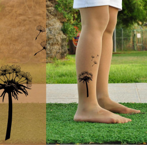 Dandelion Tattoos Designs, Ideas and Meaning