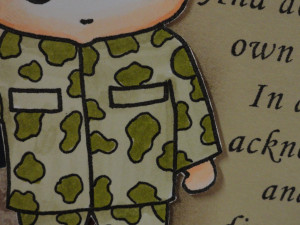 inspired stamps...the blog: New Military Solider stamp sneak peek ...
