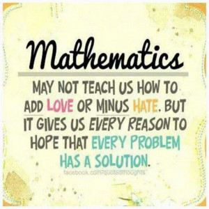 Math Quotes For Classroom Future math classroom poster