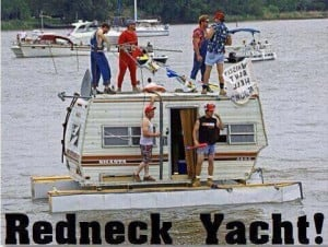 Redneck Yacht Funny Pictures