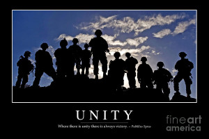 Unity Inspirational Quote Photograph