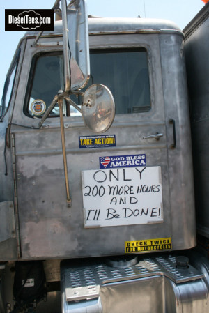 Funny Trucker Quotes Type of truck makes from