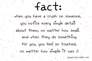 When You Have A Crush On Someone