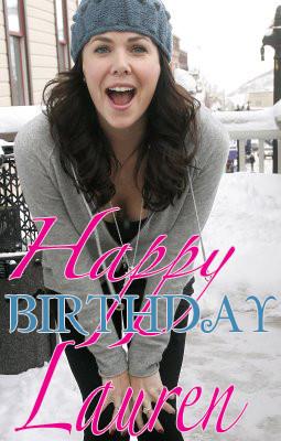 gilmorenews.comHappy Birthday Lauren Graham