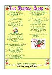 The grinch busy book game instructions