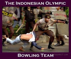 Funny) , Indonesian Bowling Team