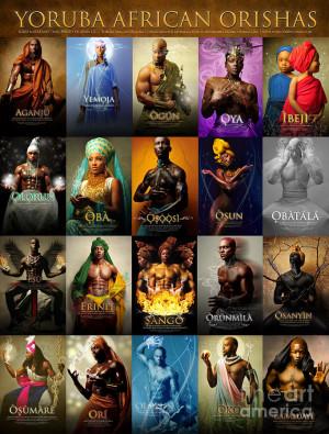The Yoruba African Orishas