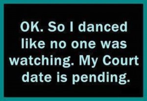 Friday Funny--Dance Like No One is Watching