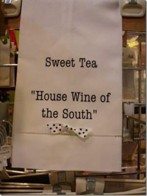 Southern Style & Hospitality (Corona): Sweet Tea is a Southern staple ...