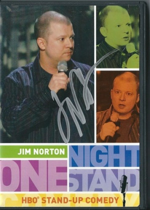 Autographed Copy of Jim Norton's One Night Stand, comes with his movie ...