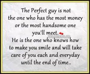 The Perfect Guy Is The One Who Knows How To Make You Smile