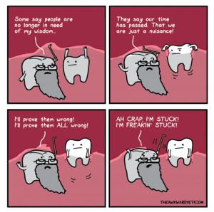 LOL comics science wisdom tooth