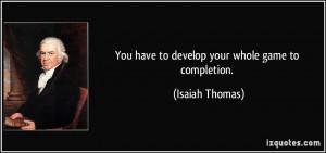 More Isaiah Thomas Quotes