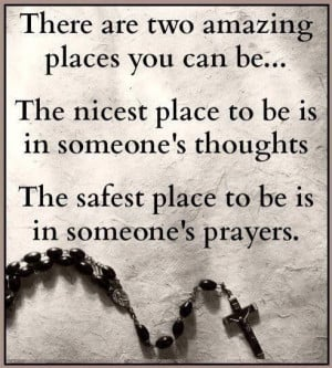 Sending Positive Thoughts to Someone | to be is in someone's thoughts ...