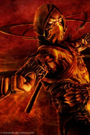 Free Mortal Kombat Scorpion