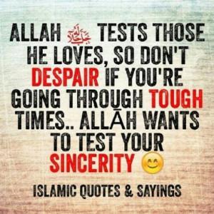 Put Your Trust Pletely Allah