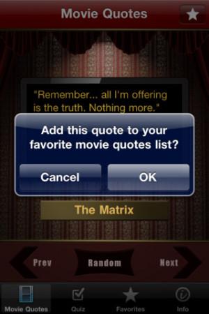 Download Movie Quotes Trivia Challenge iPhone iPad iOS