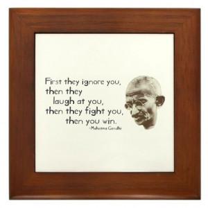 Gandhi Quote -