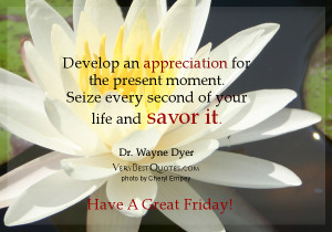 Present moment quotes, Develop an appreciation for the present moment ...